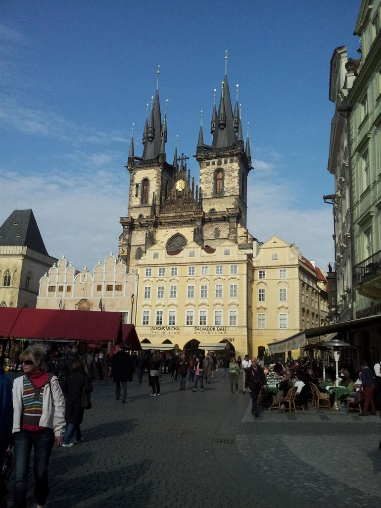 Another view of the area - Prague