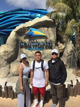 At SeaWorld San Diego, Jeff - May 2016