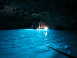 Blue Grotto while at Capri , Simone N - June 2013