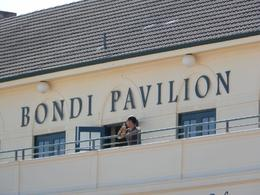 Chillin at the Bondi Beach Pavillion - July 2014