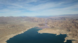 Nice view of the Colorado river entering Lake Mead. , Alan S - February 2015