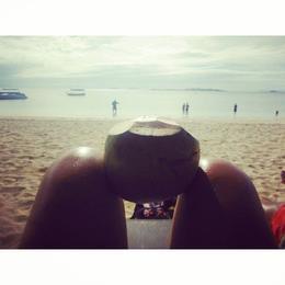 Relaxing in the Fiji sun , Natalie T K - June 2014