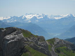 View from. the top of Mt Pilatus. , Michelle N - August 2012