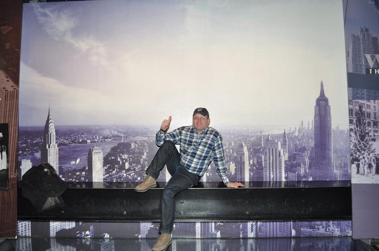enjoying myself - New York City