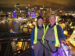 kevin and joannes awsome vivid bridge climb , kevin john b - June 2014