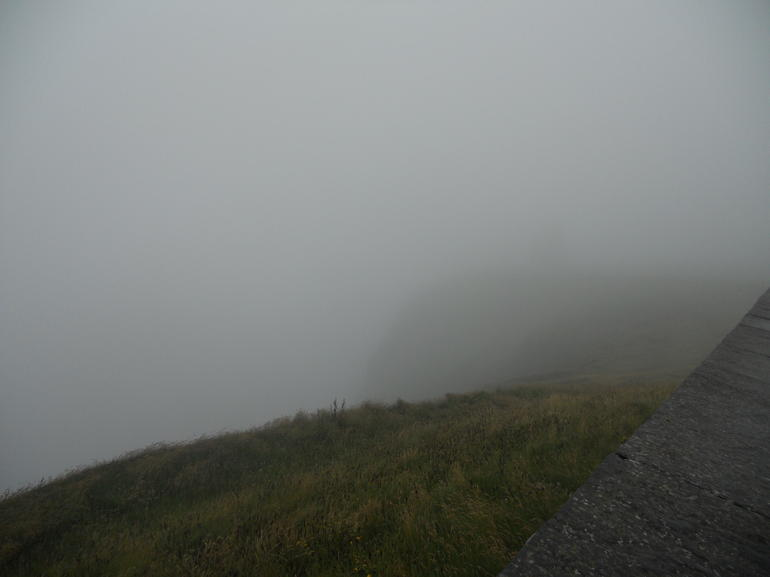 Foggy at the Cliffs of Mohr - Dublin