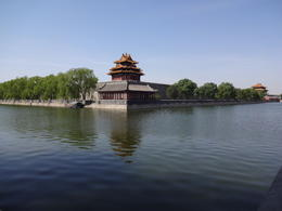The external wall of the north side of the Forbidden City , David M - May 2014