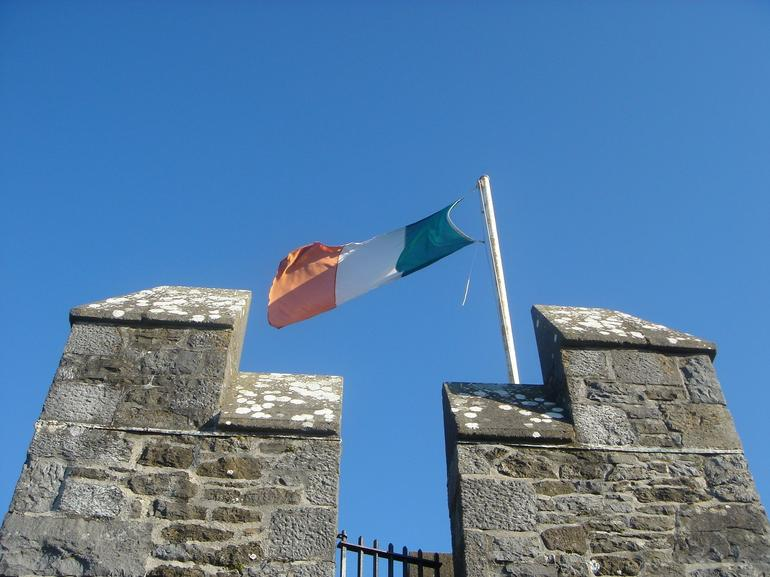 Irish flag - Dublin