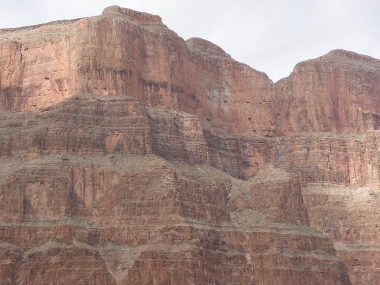 Landing inside Canyon - Las Vegas
