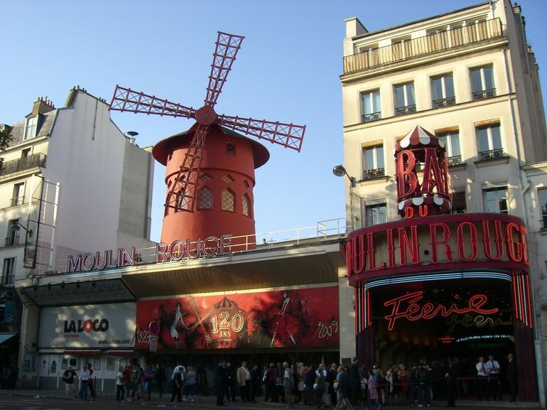 Moulin Rouge windmill - Paris