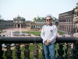 Eu no complexo de museus de Dresden , Artur Ribeiro - April 2013