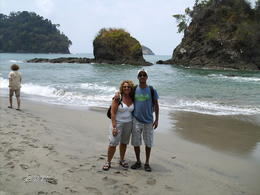 My husband and me going to eat a great lunch , Orit N - May 2011