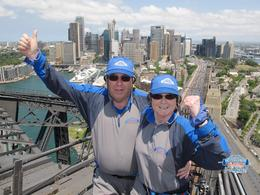 Pic taken after crossed the top of the bridge on the return climb down. , Rodney S - November 2012