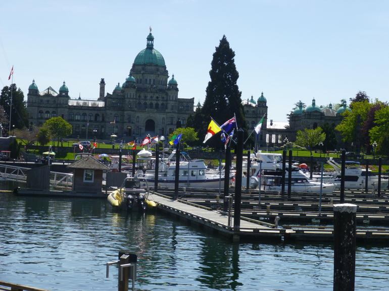 Parliament House and Victoria Habour - Vancouver