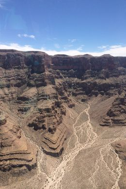 You don't go back to the grand canyon after landing, quite sad... , Sandra L - July 2016