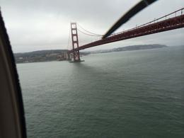 Going under the Golden Gate Bridge! , Catherine R - August 2014
