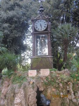 Water clock in the garden, Geraldine Marie T - November 2010