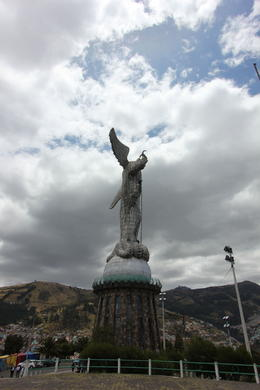 Statue of the Virgin Mary with wings - only one of Mary with wings in the world!, Bandit - October 2013