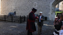 Beginning of London Tower Tour , Kenneth C - September 2015