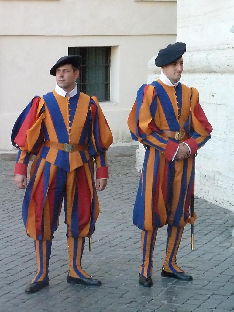 Swiss Guards - Rome
