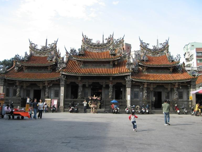 Taoist Temple Sansia - Taipei