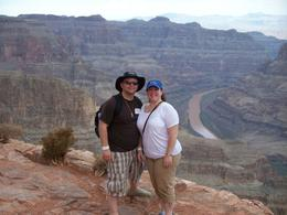 Great view of the Canyon and the Colorado River, ZONIA A - August 2010