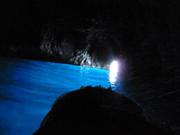 The Blue Grotto....beautiful , mazza - April 2012