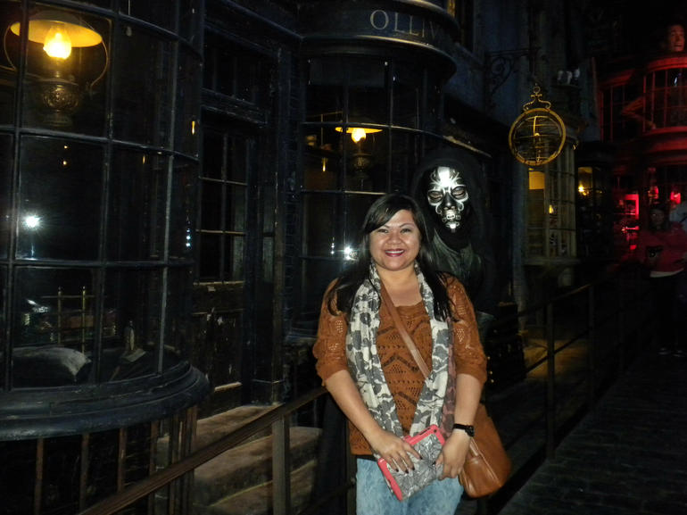 A Diagon Alley Run In - London