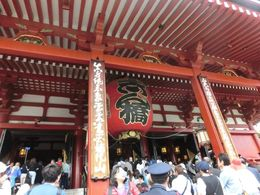 Asakusa Kannon and the lantern donated by geisha , ginalee912 - May 2016