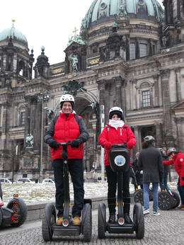Grand Berlin Segway tour - matching gear is optional :) , Alan J G - April 2013
