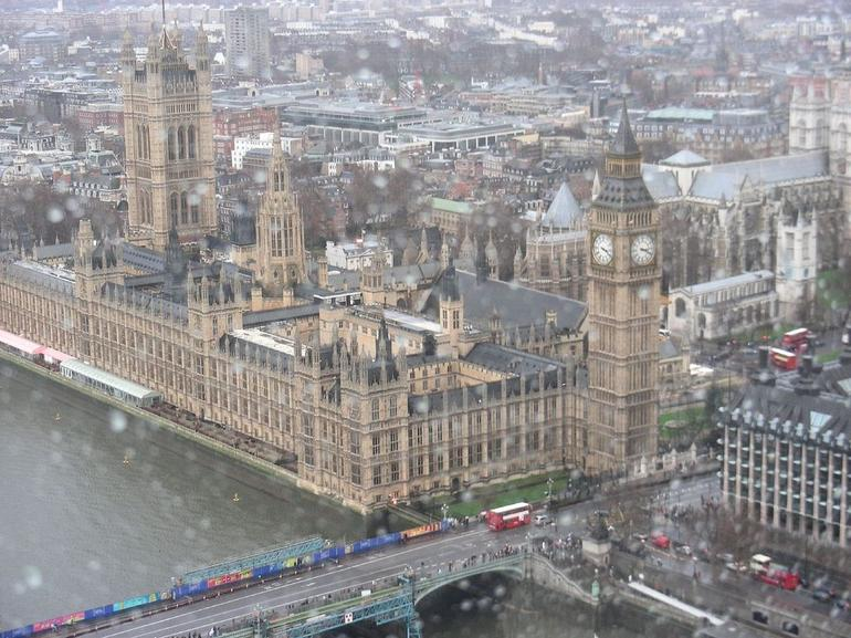 Big Ben from the London Eye - London