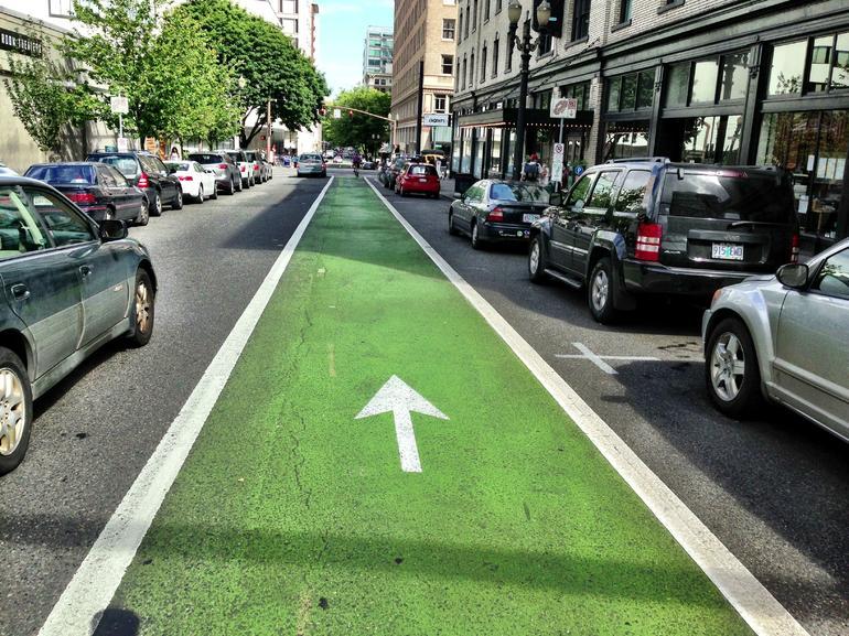 Biking in Portland - Portland