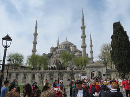 View from in front of Hagia Sophia , Paka - April 2014
