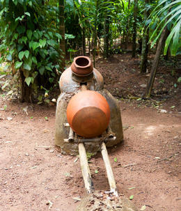 How cashew fenny is distilled - July 2012