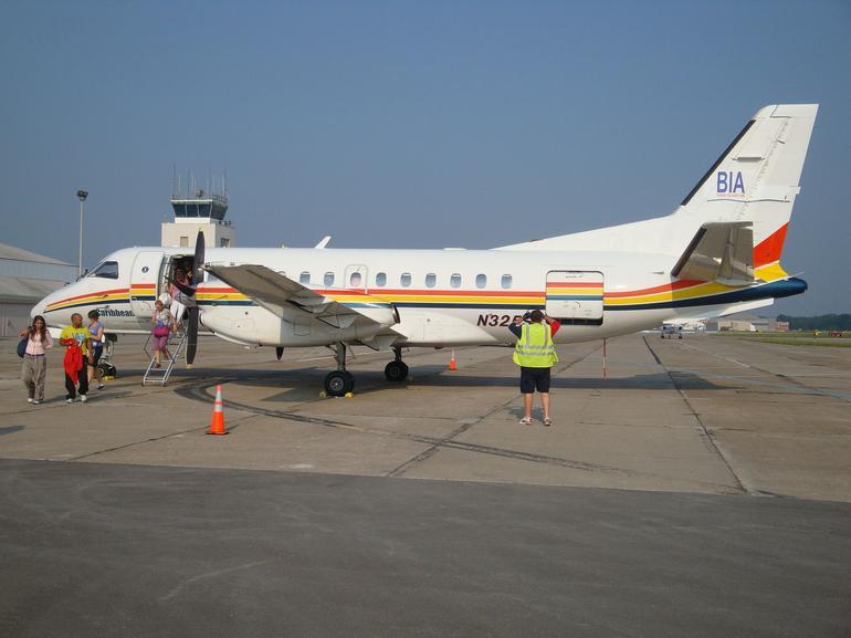 Charter plane - New York City