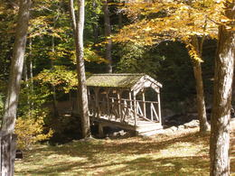 New England covered bridge , MinnieMouse - November 2013