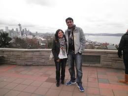 Dushyant and Bindu @ Quiwk Tour Seattle , Dushyant M - February 2013