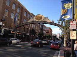 Gaslamp Quarter at twilight. , LAURALEE S - June 2015