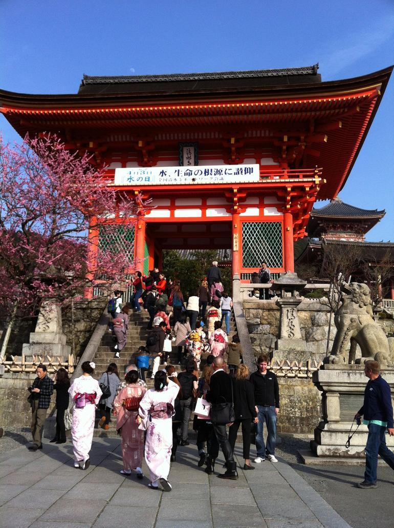 Gate of Kiyomizudera temple - Osaka