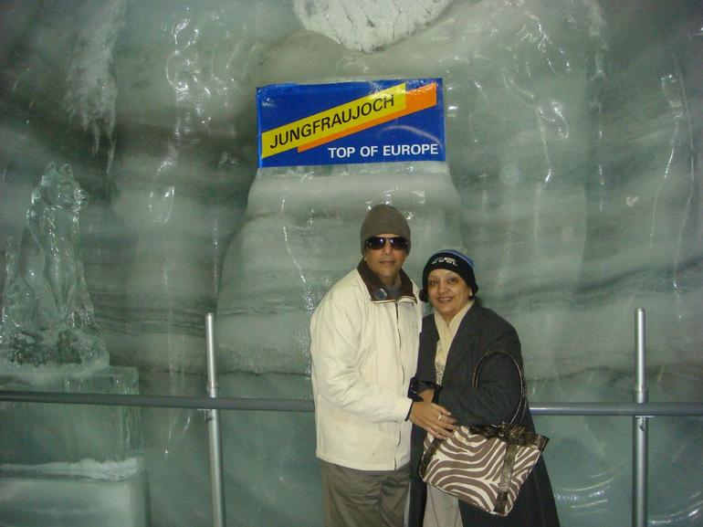 Ice Palace, Jungfraujoch - Zurich