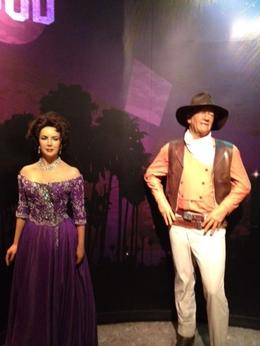 Legends of the Silver Screen, John Wayne and Elizabeth Taylor, Kimiki - May 2012