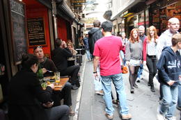 Melbourne Lanes and Arcades Walking Tour, Emma - October 2011