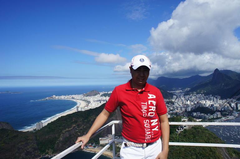 On top of Sugar Loaf Mountain - Rio de Janeiro