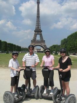 Our family had an awesome time on the segway tour! - July 2010