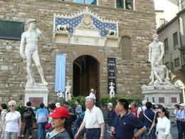 Statues in front of the Palazzo Vecchio, Philippa Burne - July 2011