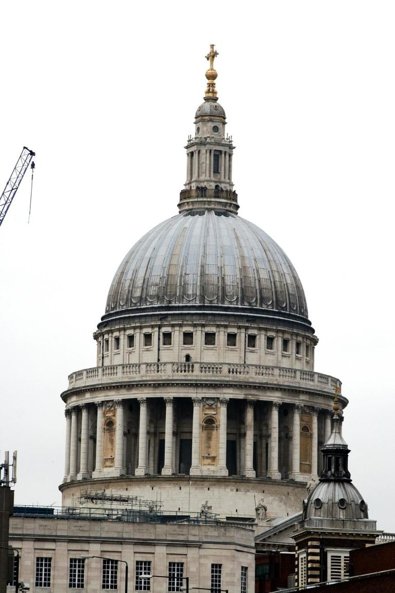 The Dome of St Paul Cathedral - London