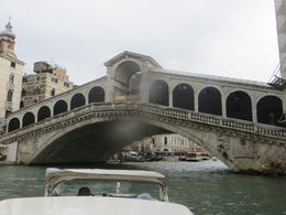 Rialto from the Grand Canal during the boat tour. , Raymond G J - May 2016
