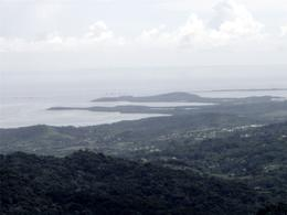 This was the view looking northeast from the observation tower in El Yunque., Richard S - September 2008