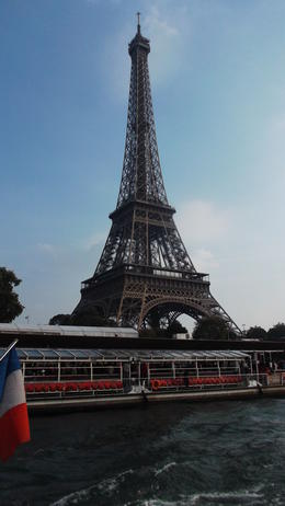 Enjoying our trip on the Seine taking in all the attractions. , JACQUELINE R - October 2014