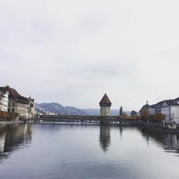 Lucerne Bridge , Irene B - November 2016